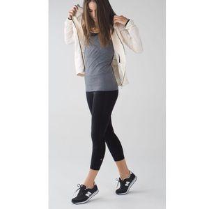 Lululemon Pace Rival Black Crop Leggings Size 8